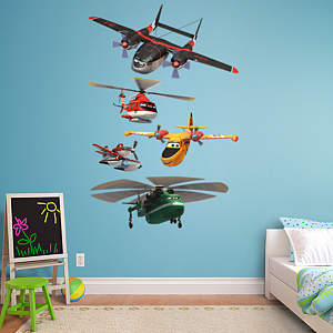Planes: Fire & Rescue Collection Fathead Wall Decal